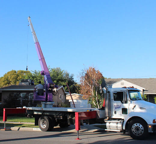 Residential Crane Rental Company
