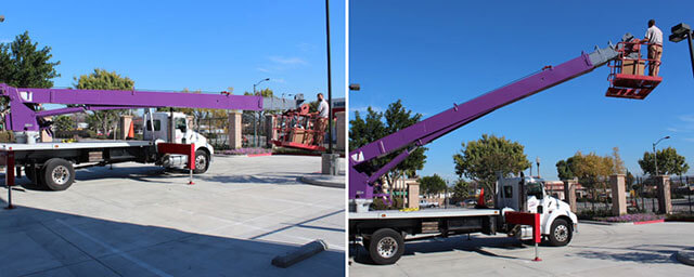Crane Rental Service Orange County, CA| Truck Crane Service